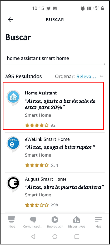 Home Assistant Skill